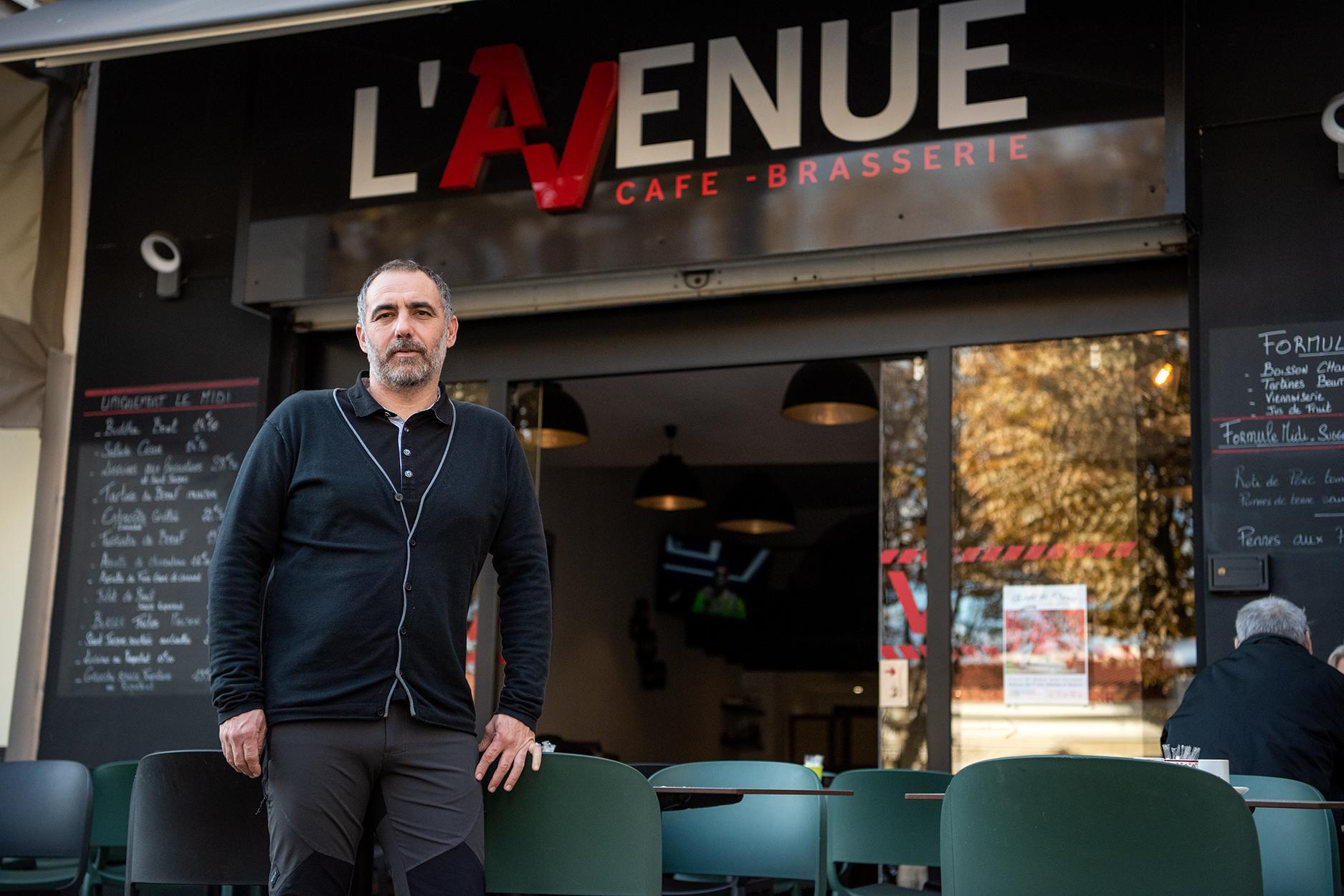 Anthony Faedda a ouvert sa brasserie en juin 2019 le long du boulevard Roi Jérôme et face à la future halle aux marchés (Photo Ville d'Ajaccio).