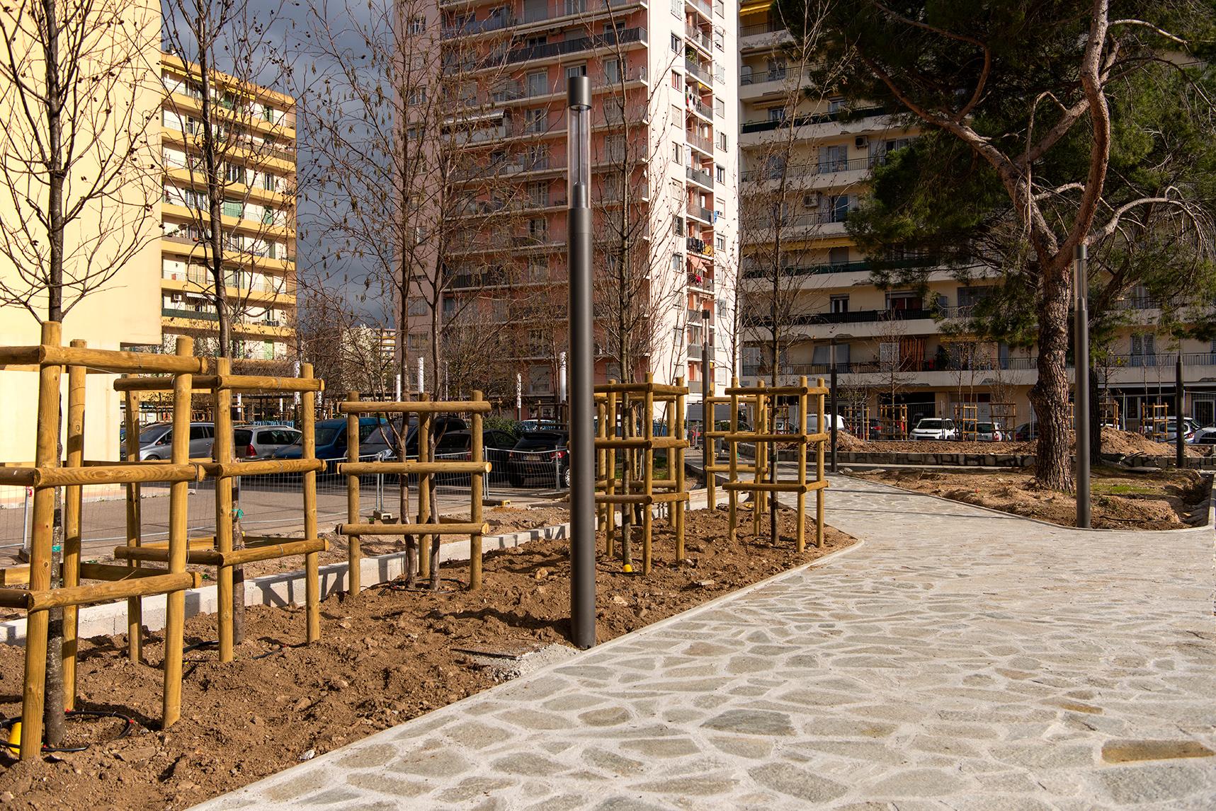 Point d'étape du programme de rénovation urbaine, quartier des Cannes
