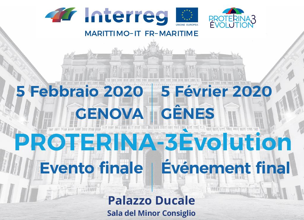 SAVE THE DATE : 5 févier - Gênes