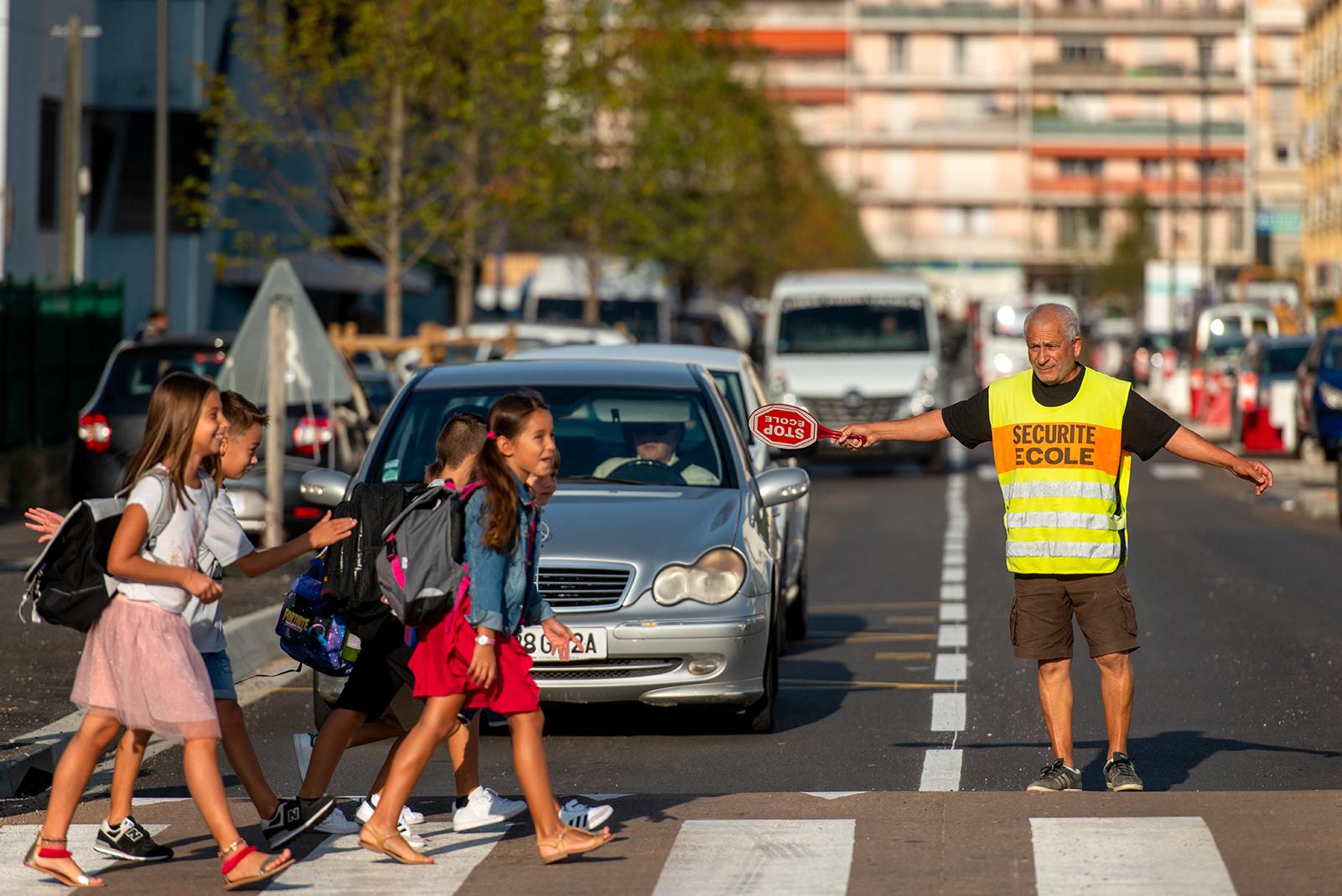 Les nouvelles recrues du dispositif Papy et Mamy Prudence ont été accueillies ce matin à la mairie d'Ajaccio (Photo Ville d'Ajaccio).