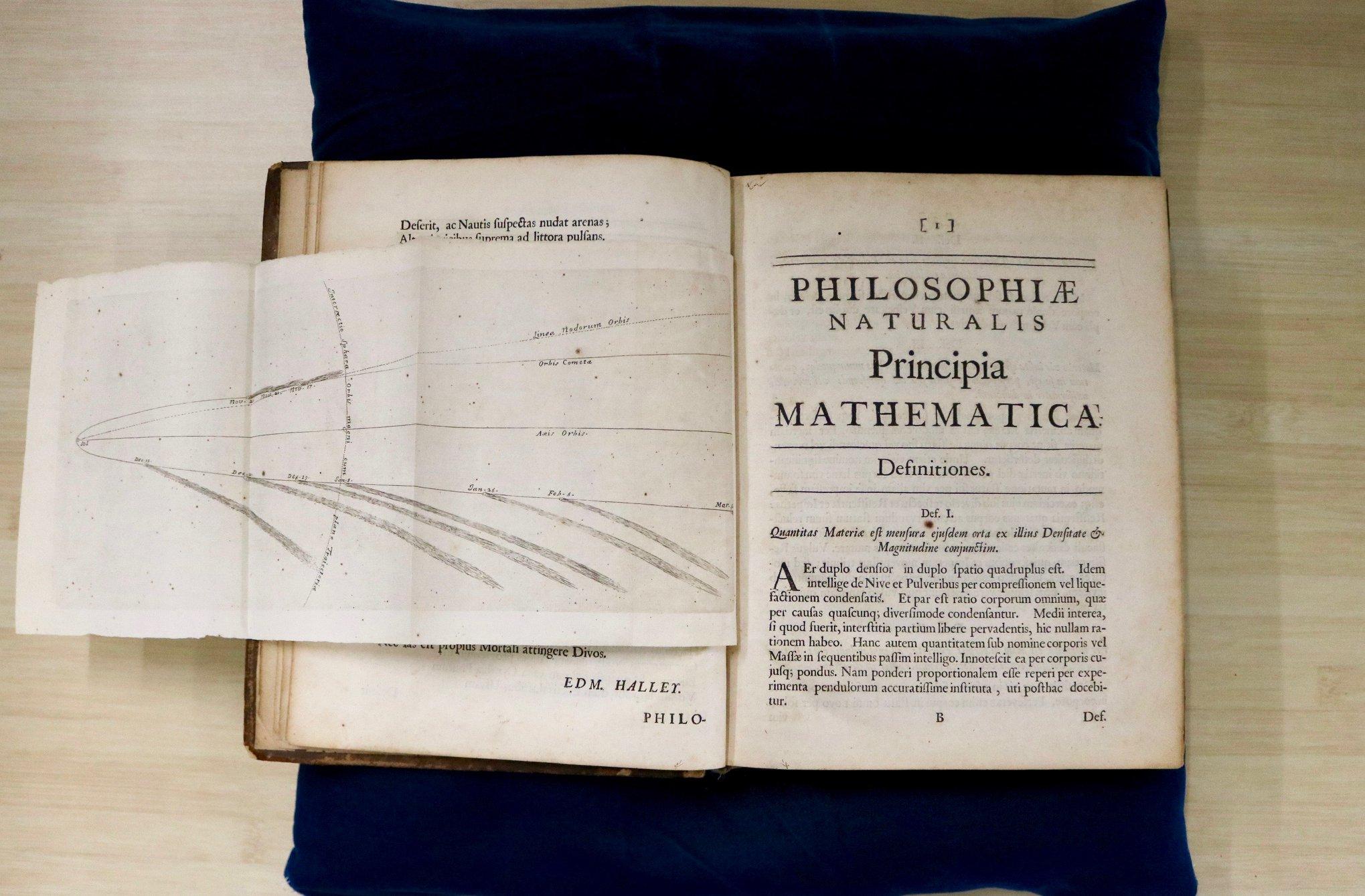 Découverte : le « Philosophiae naturalis principia mathematica »