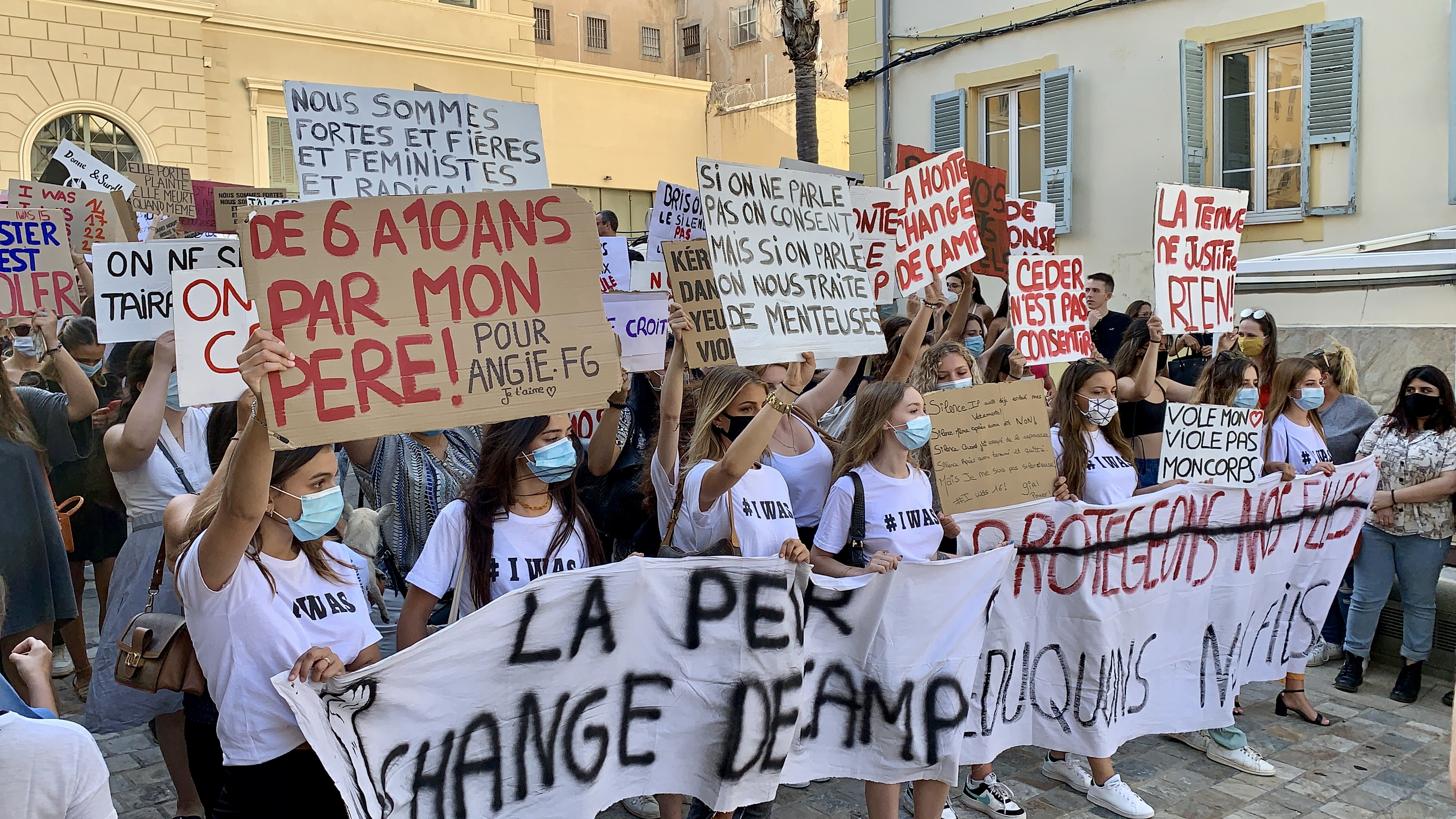 #Iwas Ajaccio : une marche contre les violences sexuelles