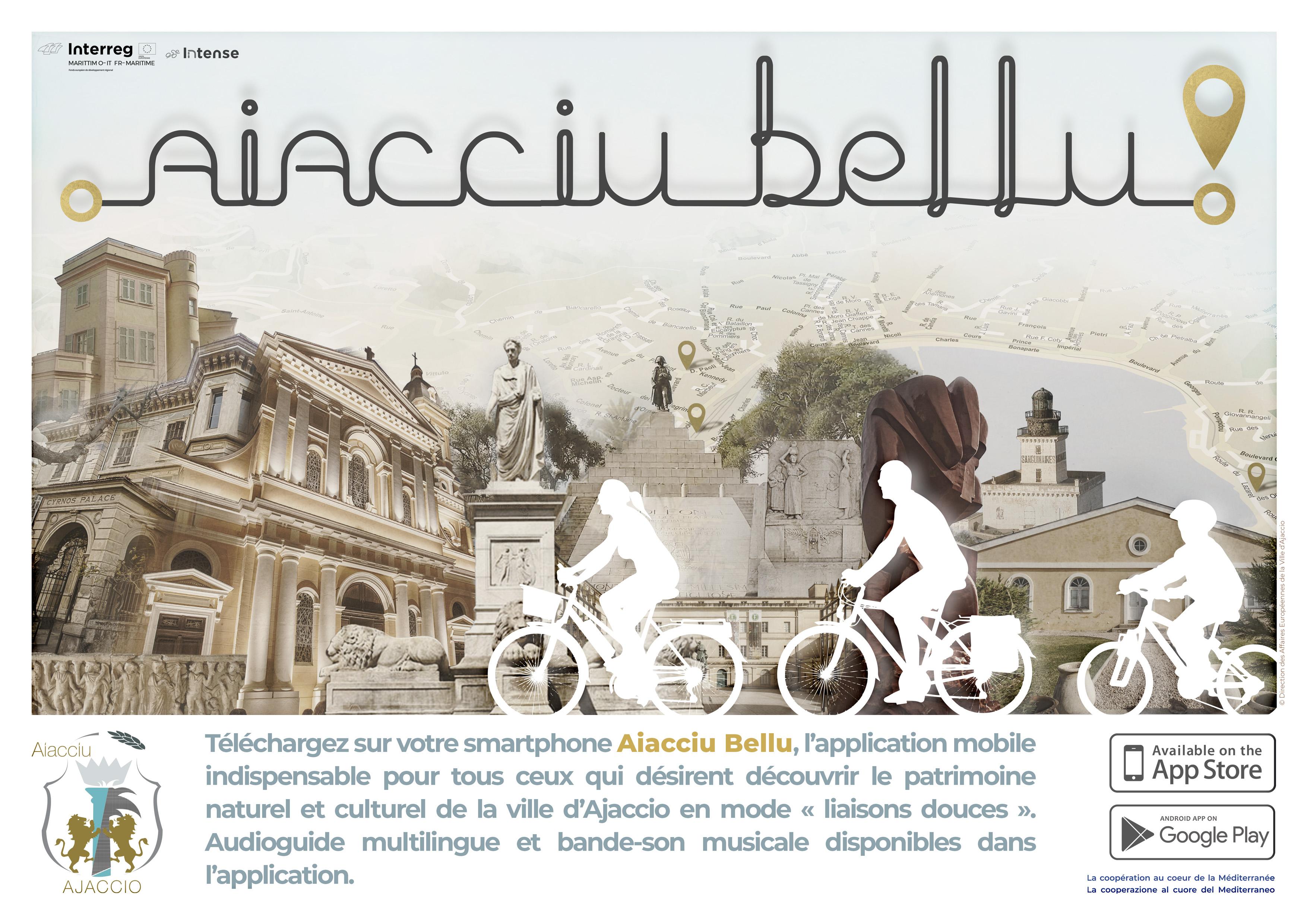 « Aiacciu Bellu » L'application mobile pour découvrir la Ville à vélo