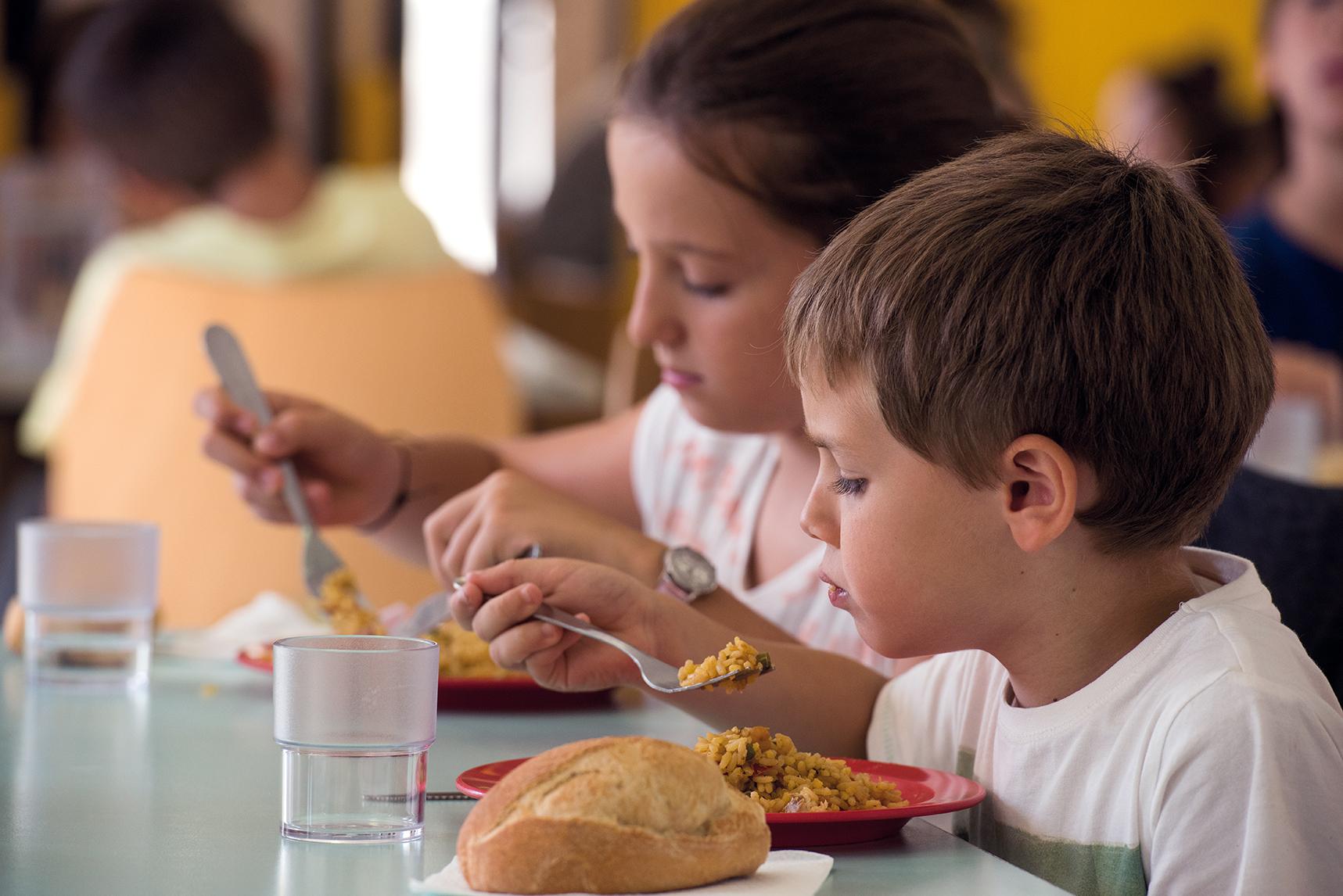 Le volume maximum de repas à produire dans les établissements scolaires est de 2700 repas/jour en période scolaire (Photo Ville d'Ajaccio).