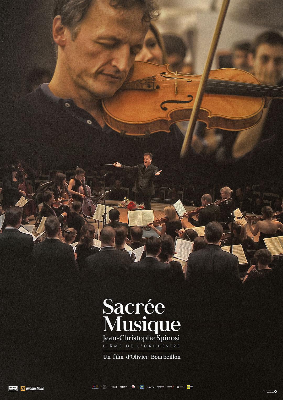 """Projection documentaire """"Sacrée musique"""" d'Olivier Bourbeillon dimanche 18 octobre à 18h30 à l'Ellipse"""