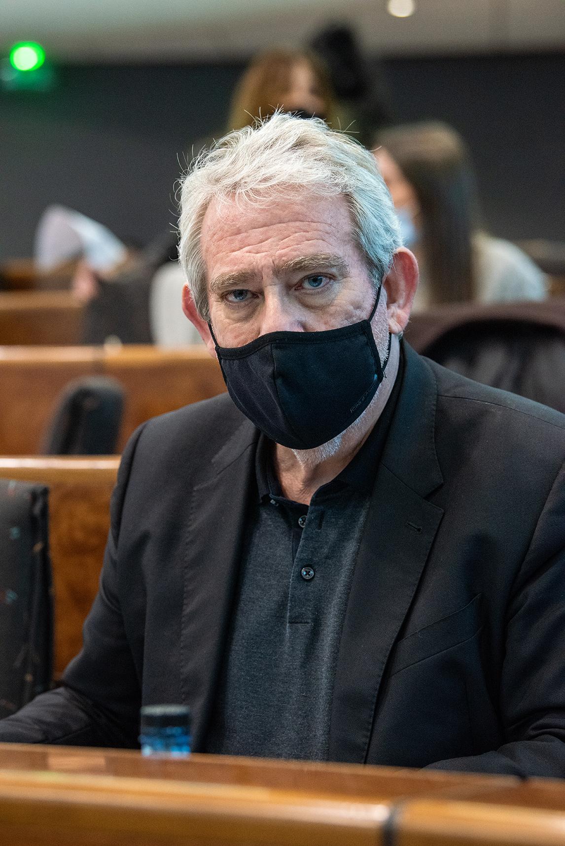 Pierre Pugliesi adjoint en charge des finances a présenté le détail des dépenses liées à la gestion de la crise sanitaire.