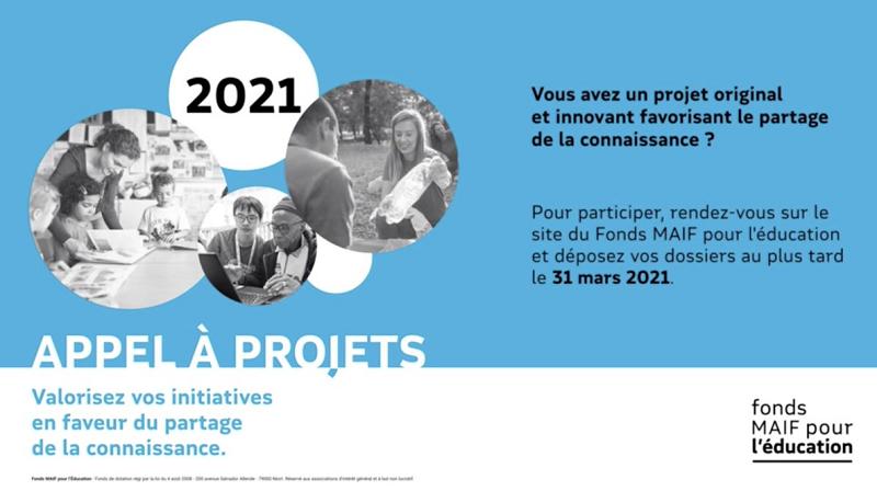 Fonds MAIF pour l'Education 2021