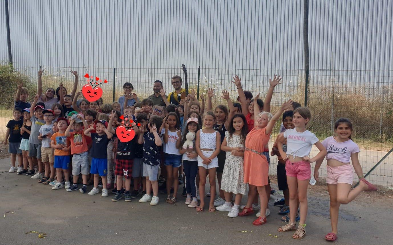 Les enfants du centre de loisirs de Baleone ont fêté la Musique