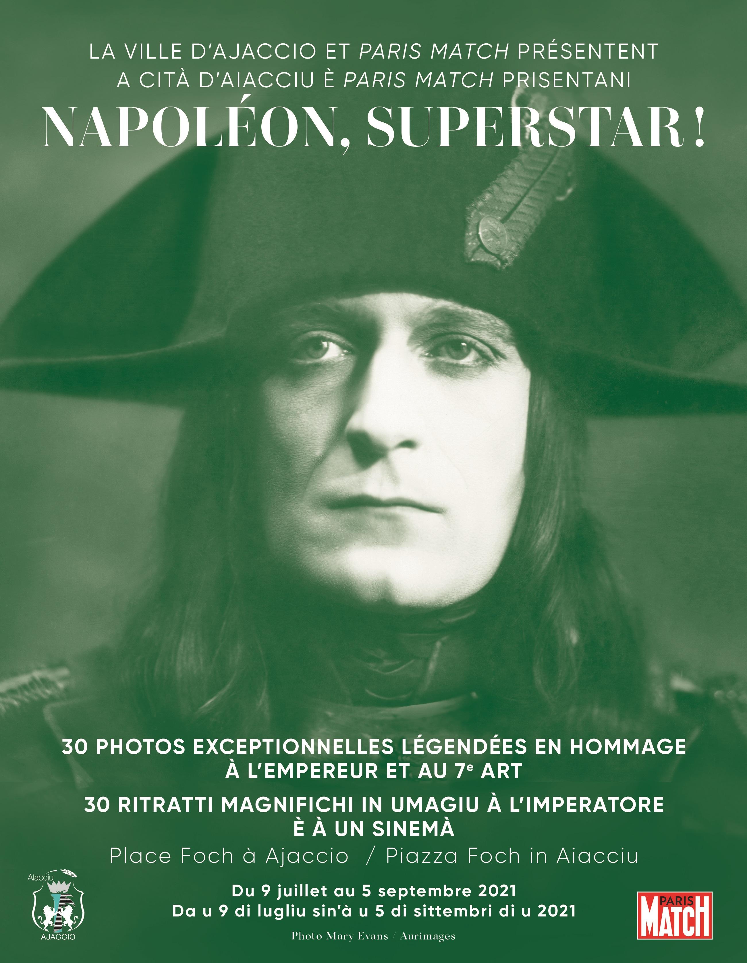 """Exposition """"Napoléon Superstar"""""""