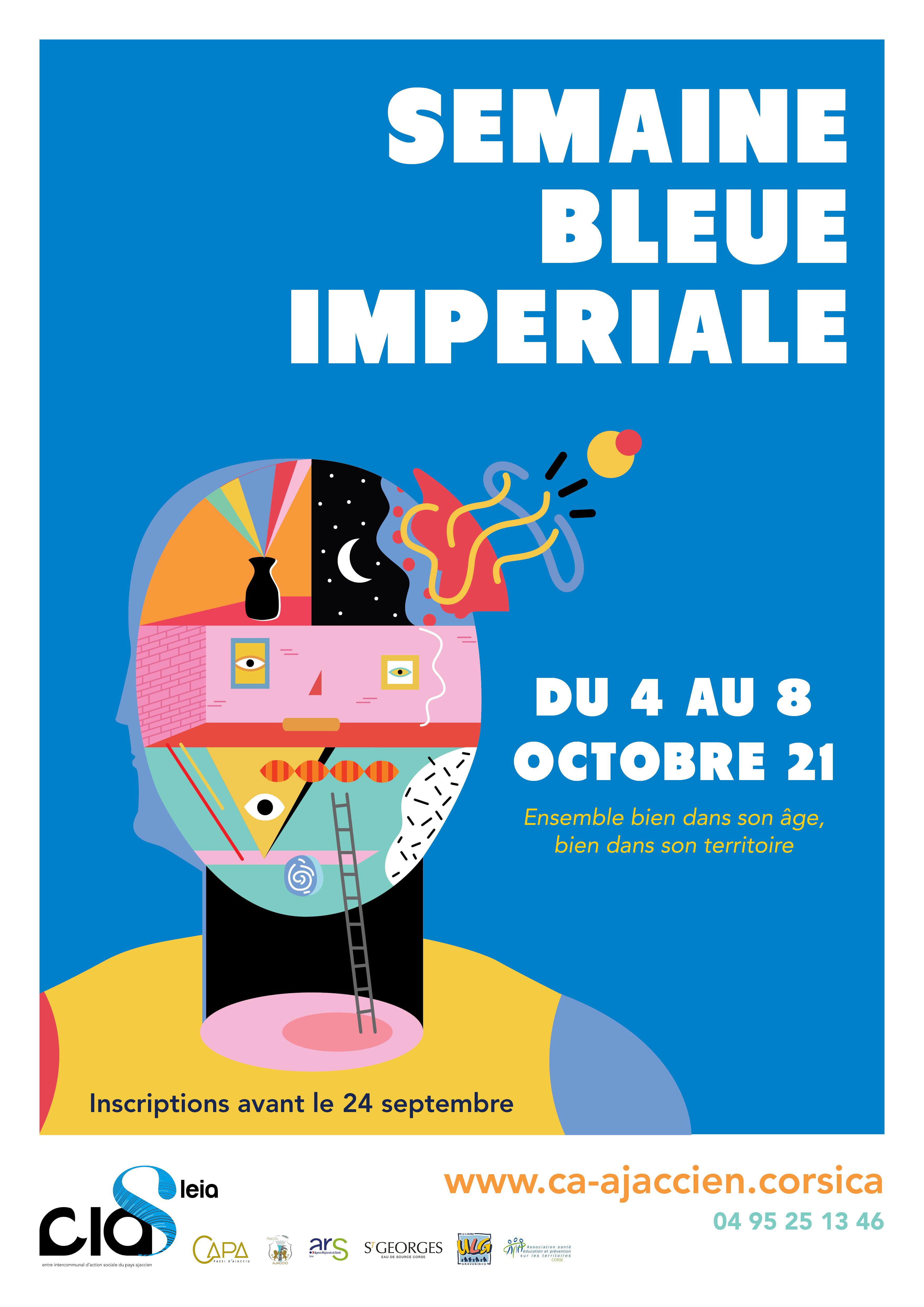Programme Semaine Bleue Impériale 2021