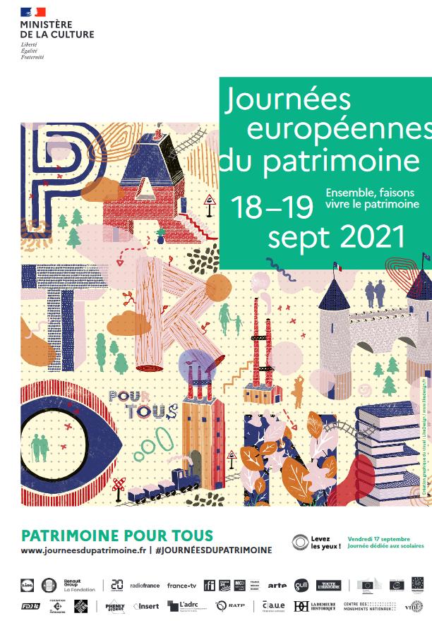 Programme des Journées du Patrimoine 2021