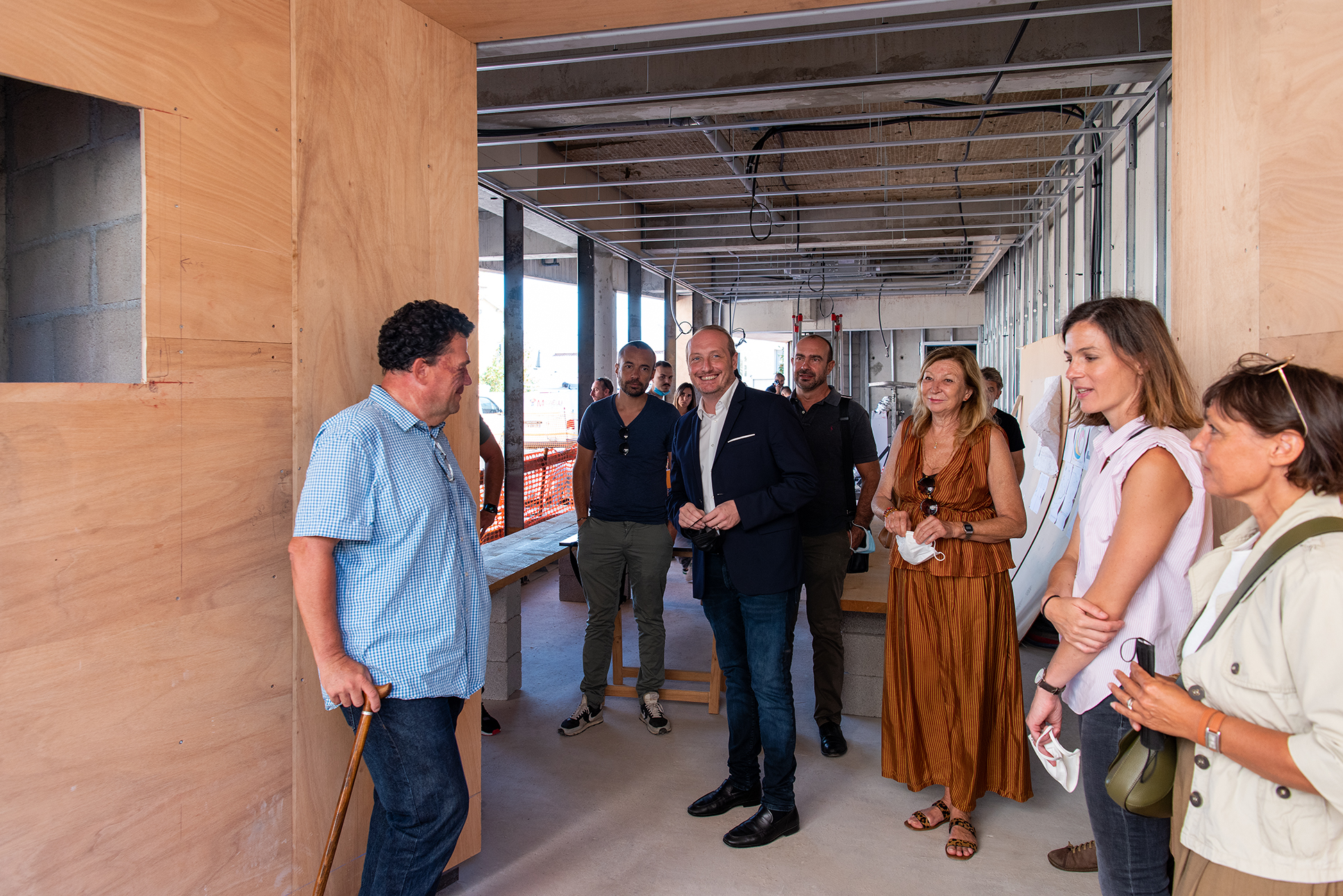 Point d'étape sur la mise en valeur du baptistère San Ghjuvà