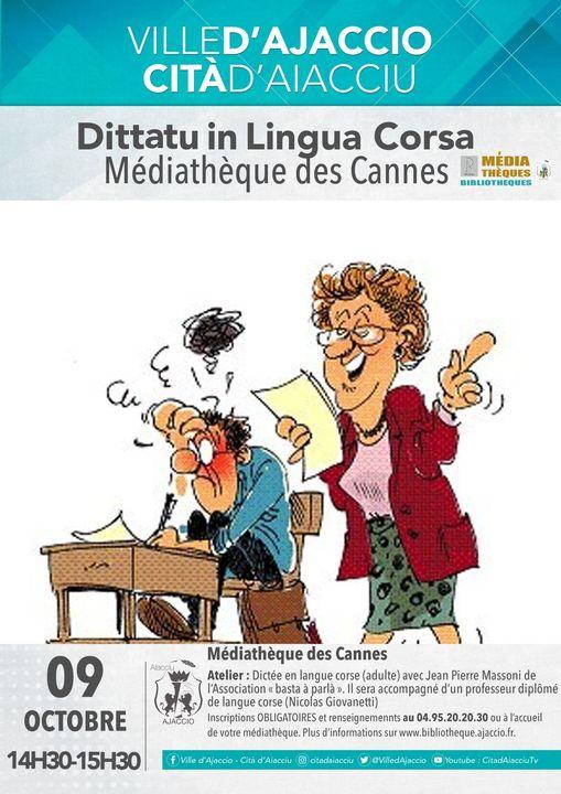 Dittatu in Lingua corsa