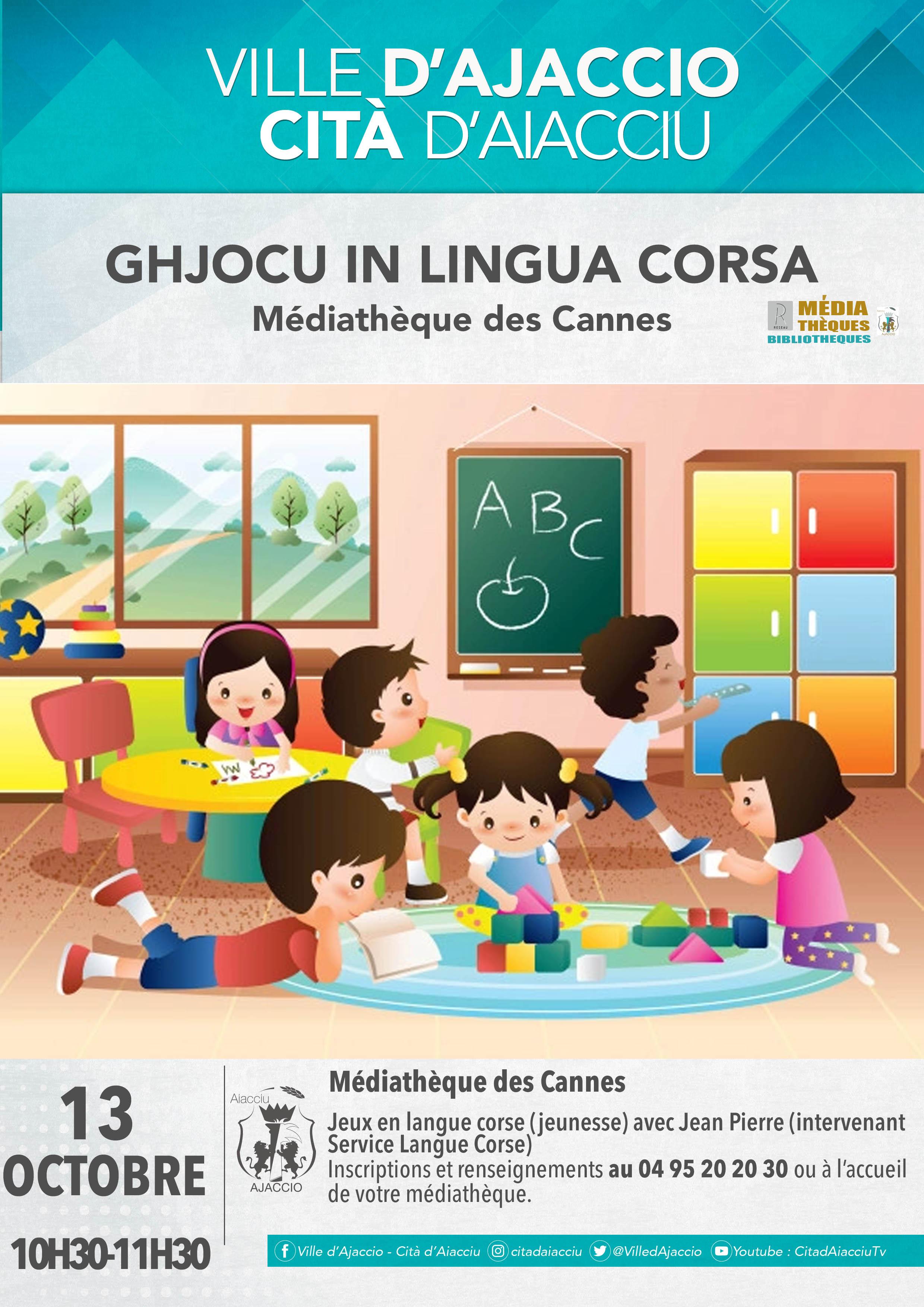 Ghjocu in lingua corsa