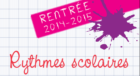 Rythmes scolaires 2014-2015