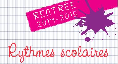 Rythmes scolaires 2014-2015