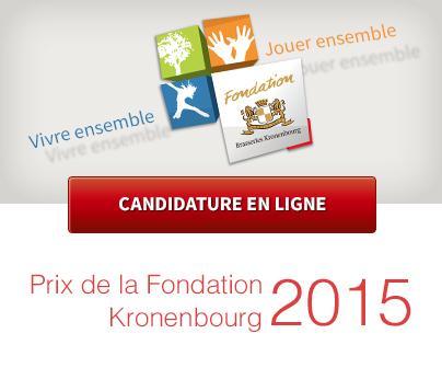 Prix de la Fondation Kronenbourg 2015