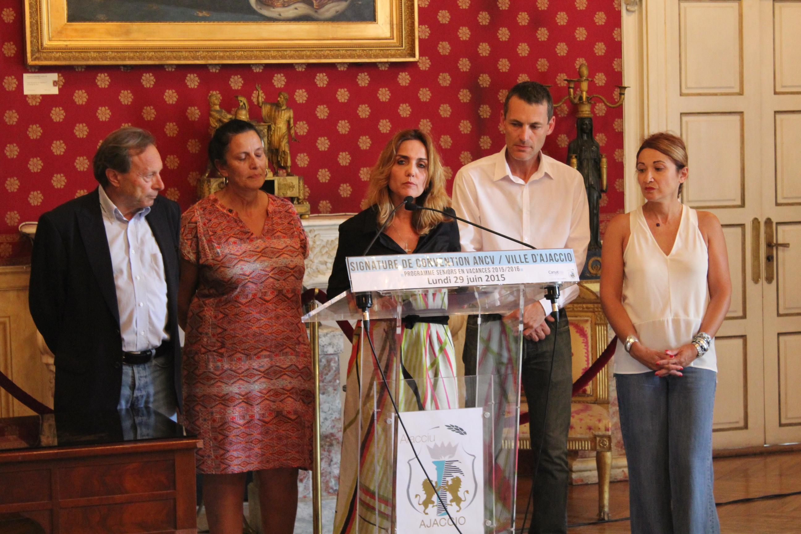 La Ville d'Ajaccio s'engage  avec l'Agence Nationale des Chèques Vacances (ANCV)