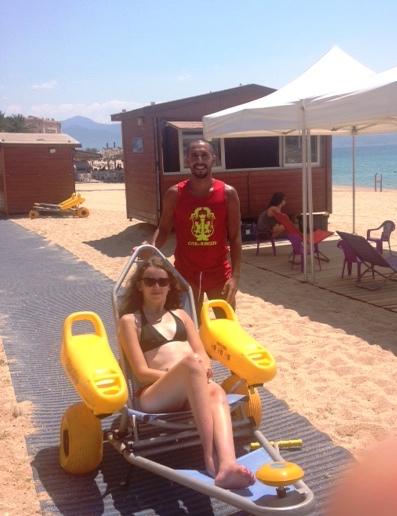 Handiplages 2015, ouverture le 1er juillet et nouveauté sur la Plage de Trottel