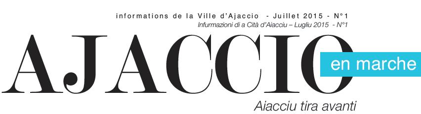 Ajaccio en marche, vos informations de la Ville d'Ajaccio