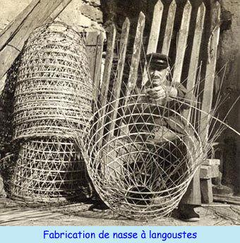 La fabrication de nasse à langouste