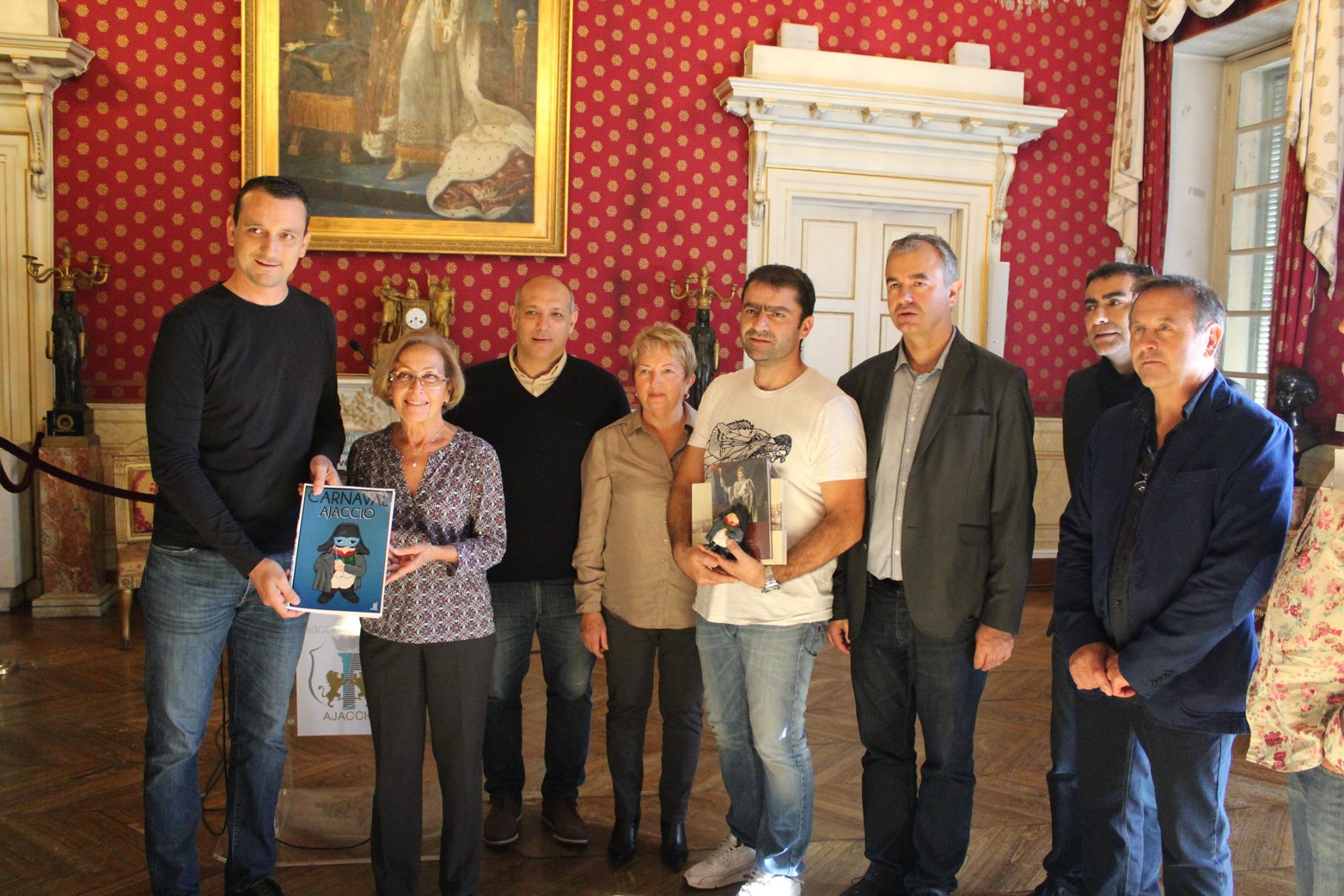 Résultat du concours d'artiste du Carnaval d'Ajaccio