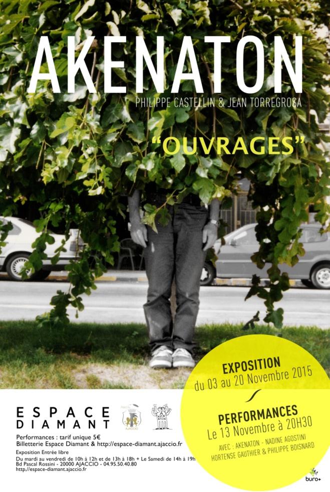 Vendredi 13 novembre : Trois performances - en parallèle à l'exposition d'Akenaton -