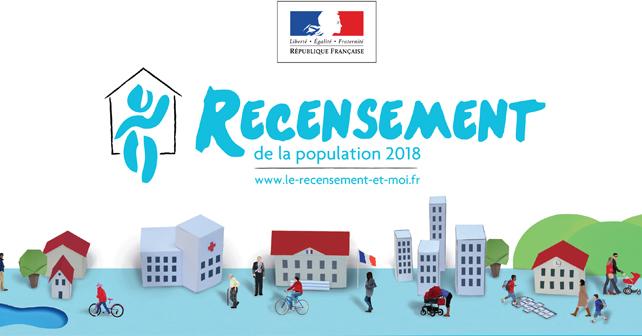 Recensement de la population à Ajaccio du 18 janvier au 24 février 2018