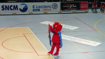 Match de Volley Ajaccio / Paris au Palatinu