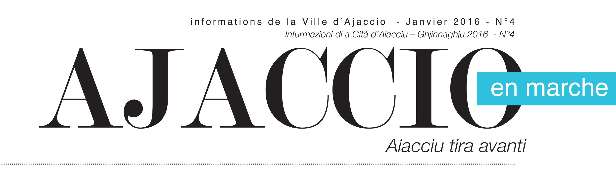 Recevez-vous le journal de la Ville AJACCIO EN MARCHE