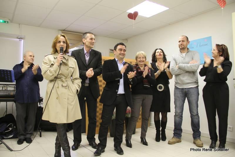Thé Dansant de la St Valentin au Centre Social des Salines
