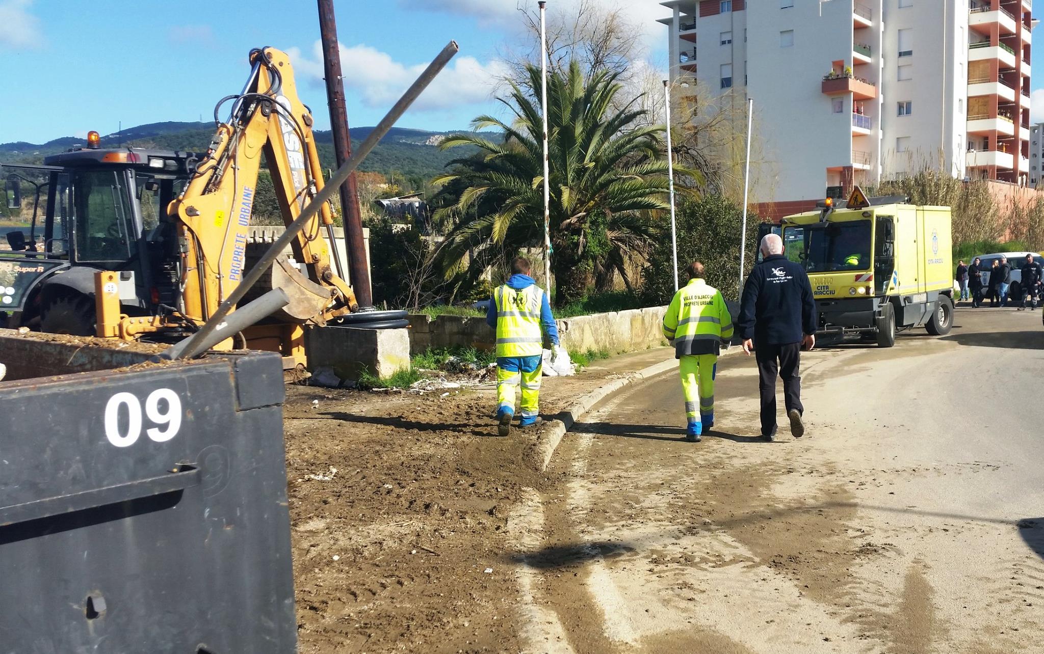 1er mars Opération propreté Terre-plein d'Alzo di Leva