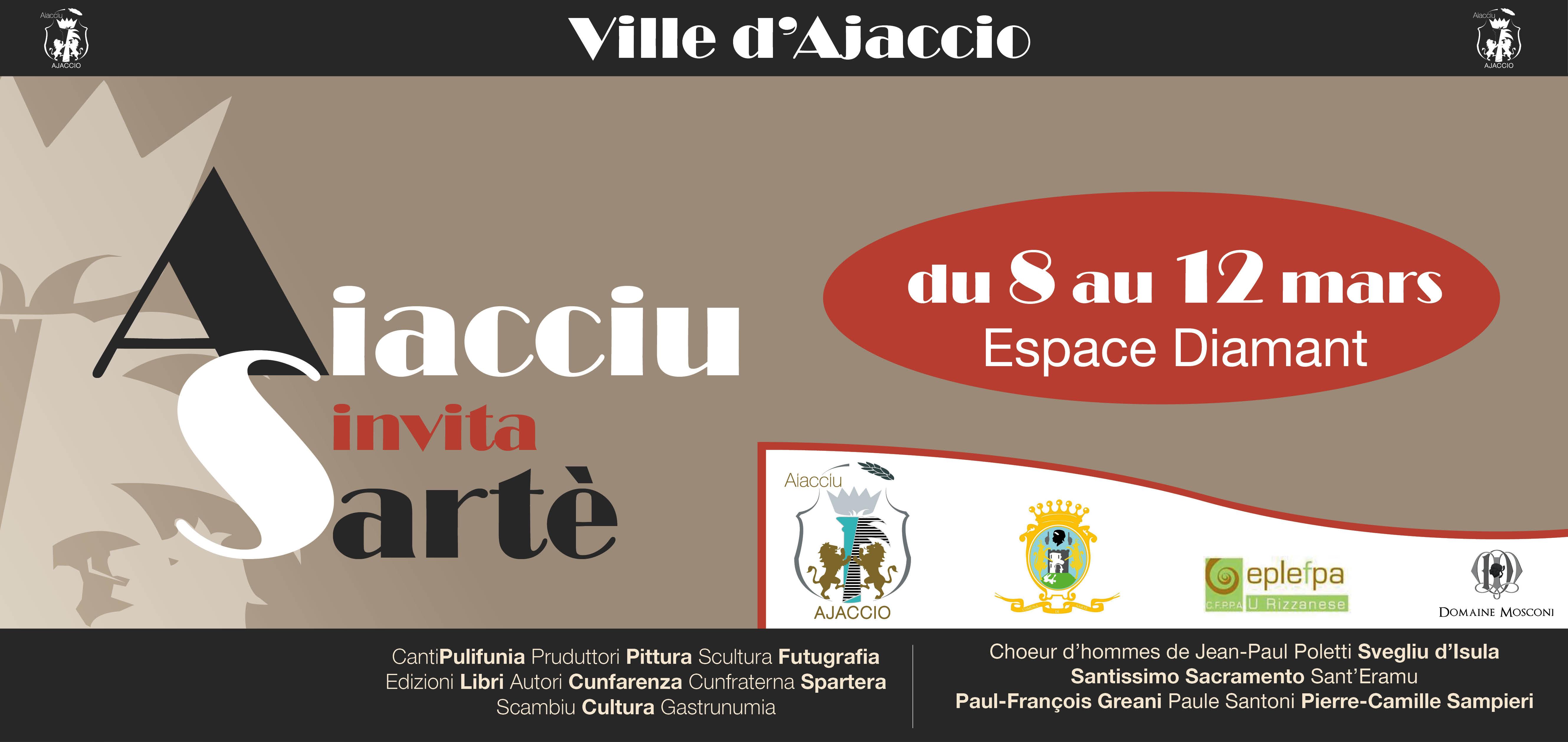 8 - 12 marzu : AIACCIU INVITA SARTÈ