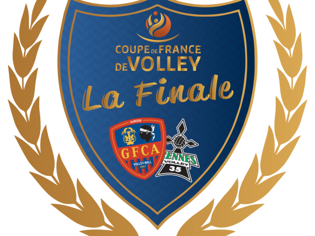 Dimanche 27 mars Finale de la Coupe de France de Volley GFCA / Rennes