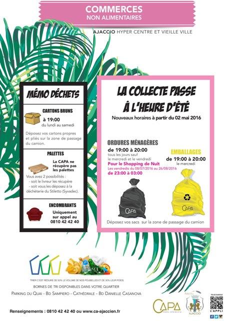 La collecte en sacs passe à l'heure d'été ...emballages, déchets ménagers et encombrants