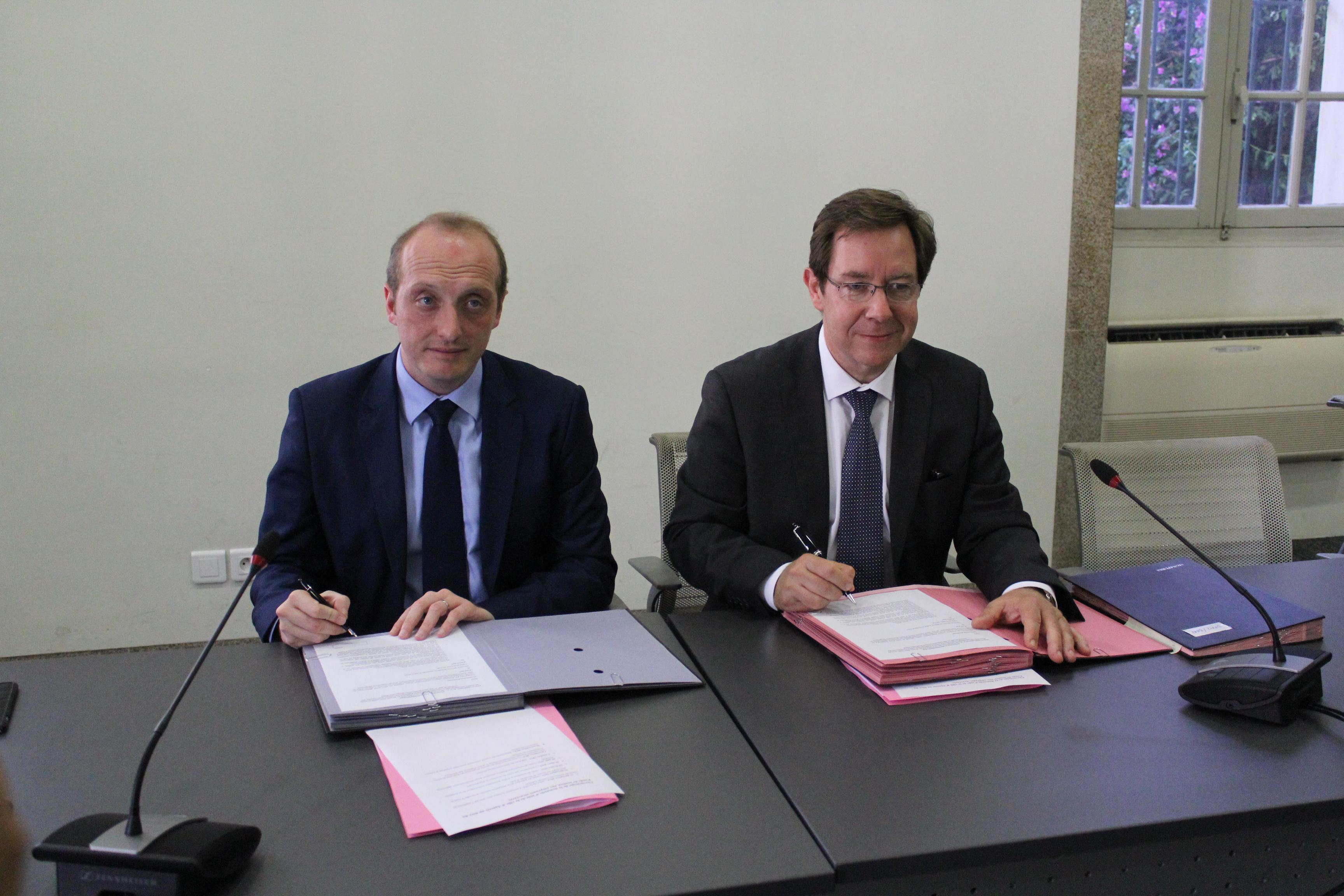 Signature de la Convention d'attribution du fond de soutien aux collectivités