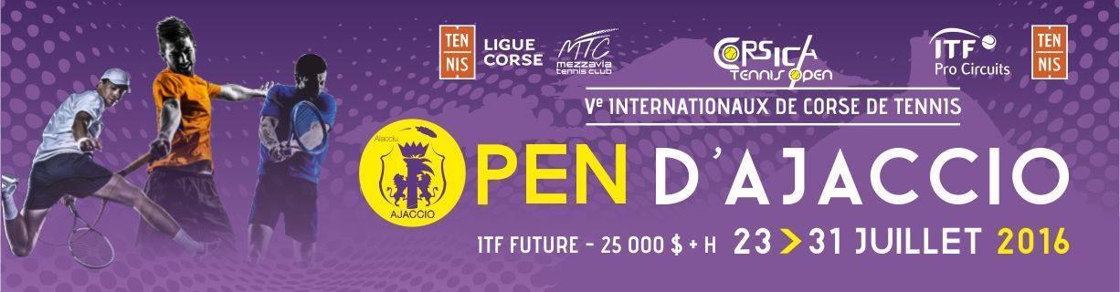 Open d'Ajaccio de Tennis du 23 au 31 juillet