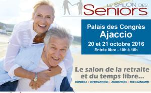 Salon des Séniors 20 et 21 octobre Palais des Congrès Ajaccio : découvrez les activités et services du centre communal d'action sociale