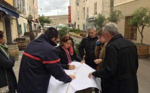 Groupe de travail accessibilité des engins de secours à la vieille ville (visite terrain 10/11/2016)