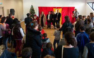Goûter de Noël des familles du CCAS de la Ville d'Ajaccio