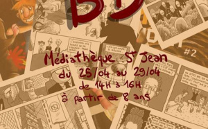 Atelier BD à la Médiathèque Saint Jean