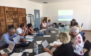 Comité de pilotage du projet CIEVP du 25 juillet 2017 à Gênes