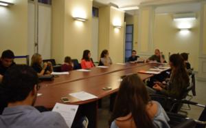 La rentrée du Conseil Municipal des Jeunes de la ville d'Ajaccio