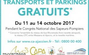 Parkings et transports gratuits pendant le congrès