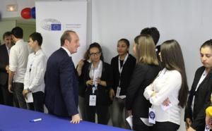 Les élèves de terminal du LEP Finosello d'Ajaccio officiellement « ambassadeurs du Parlement Européen »