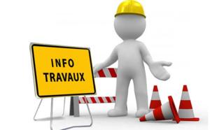 Travaux de branchement au réseau assainissement restriction de stationnement et de circulation Montée Saint Jean