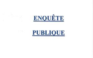 AVIS D'ENQUÊTE PUBLIQUE RELATIVE AU TRANSFERT D'OFFICE DANS LE DOMAINE PUBLIC COMMUNAL DE LA RUE DES ROMARINS ET DE LA ROUTE DE L'ANCIENNE BATTERIE D'ASPRETTO