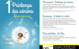 1er printemps des séniors du Pays Ajaccien du 29 au 31 mars 2018