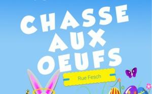 Chasse aux oeufs samedi 31 mars Rue Fesch