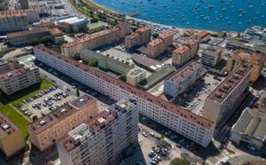 Démarrage prochain de l'abattage de la barre Mancini 26 juin 2018 quartier des Cannes